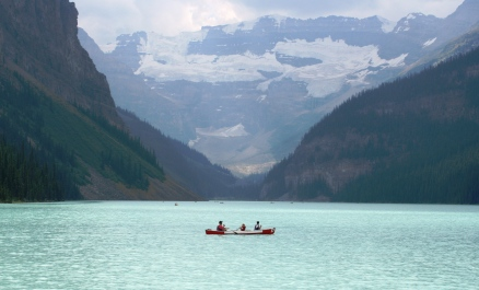 Lake Louise, Banff National park zoals we willen dat het is
